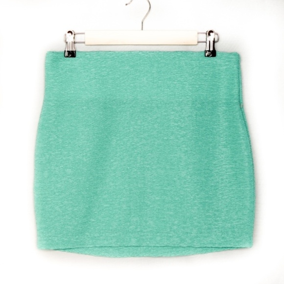 BCBGeneration Dresses & Skirts - BCBG Mint Green Bandage Skirt SZ S